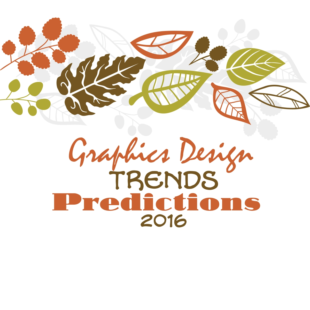 Graphic Design Trend Predictions For 2016
